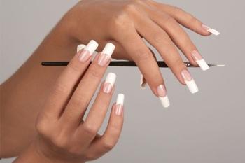 Как сделать квадратную форму ногтей в домашних условиях пошагово
