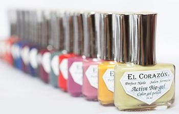 Идеальный маникюр с лаком для ногтей El Corazon