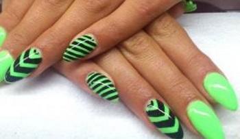 Геометрия на острых ногтях