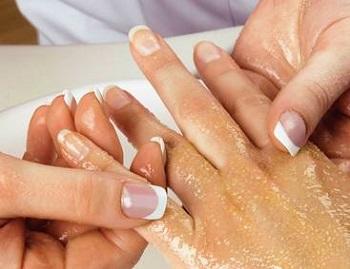 Маска для кожи рук и ногтей
