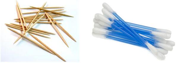Палочки и зубочистки