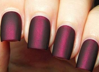 Лак для ногтей с матовым эффектом
