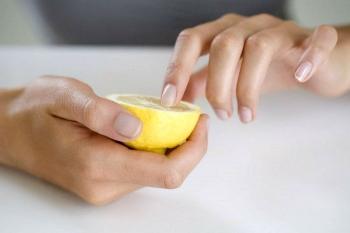 Обезжиривание лимоном