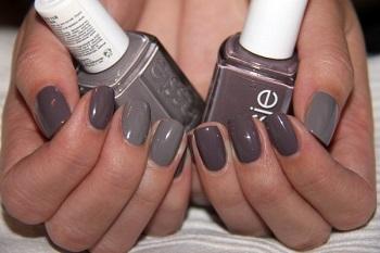 Лаки серого цвета