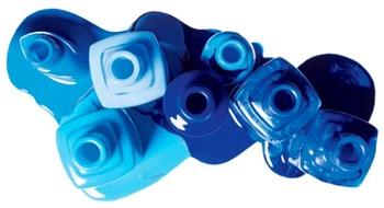 Многообразие оттенков синего поможет подобрать удачный для каждой модницы
