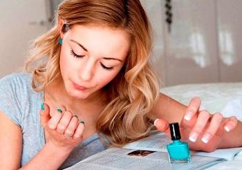 Как быстро высушить лак на ногтях