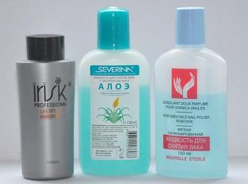 Как выбрать жидкость для снятия Шеллака
